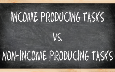 Income Producing Tasks vs. Non-Income Producing Tasks